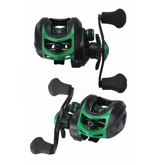 Baitcasting Reel Fishing Tackle High Speed Casting