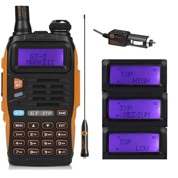 High Power Dual Band Two Way Radio Walkie Talkie