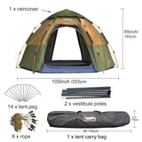 Tents Easy Instant Setup Portable 4 Seasons
