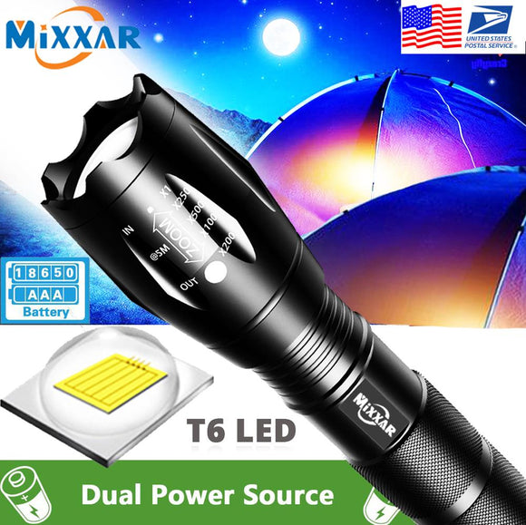 LED Handheld Flashlight Zoom Five Models