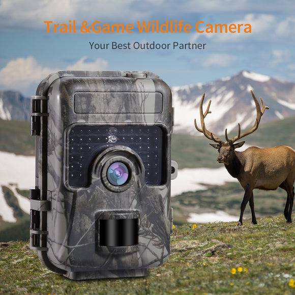 Hunting Trail Camera Scouting Cam IR Night Vision Waterproof