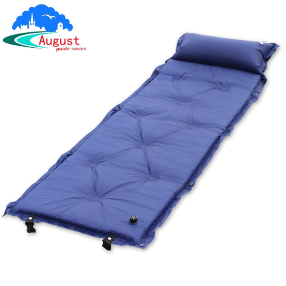 Inflatable Mat Self Inflating Air Mattress Sleeping Pad With Pillow