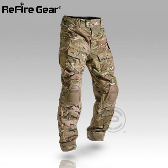 Hunting Camouflage Pants Knee Pads Multiple Options