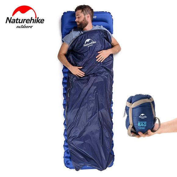 NH NatureHike Mini Ultralight Sleeping Bag Outdoor Camping Trip Travel Bag Hiking Camping Equipment Portable Cotton sleeping bag Hunt Gear Store