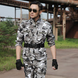 Snow Camouflage Hunting Clothes Pants And Shirt