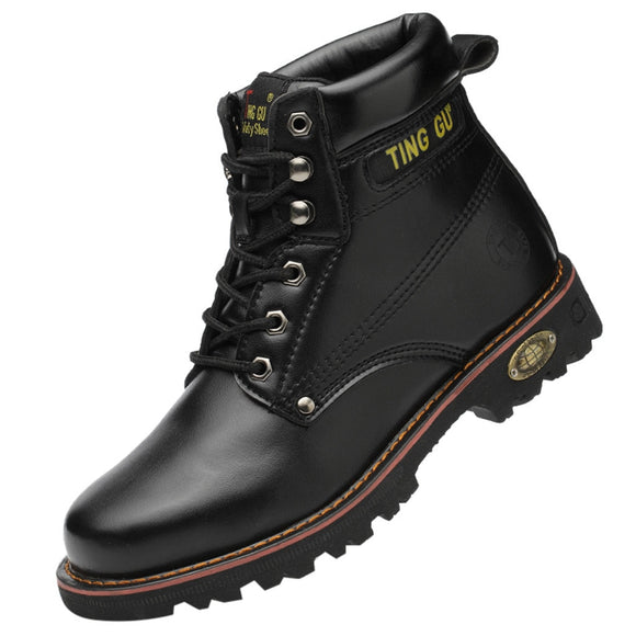 Work Safety Boots High Top Anti Smash Work Shoes