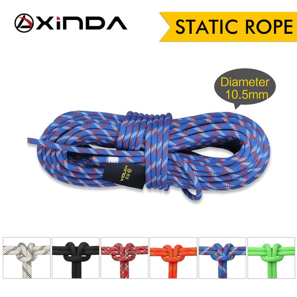 XINDA Camping Rock Climbing Rope 10.5mm