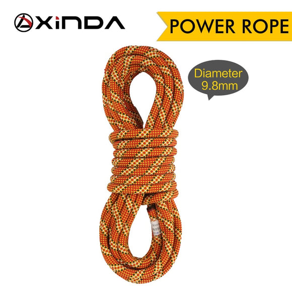 XINDA Rock Climbing Dynamic Rope 9.8mm 10.5mm