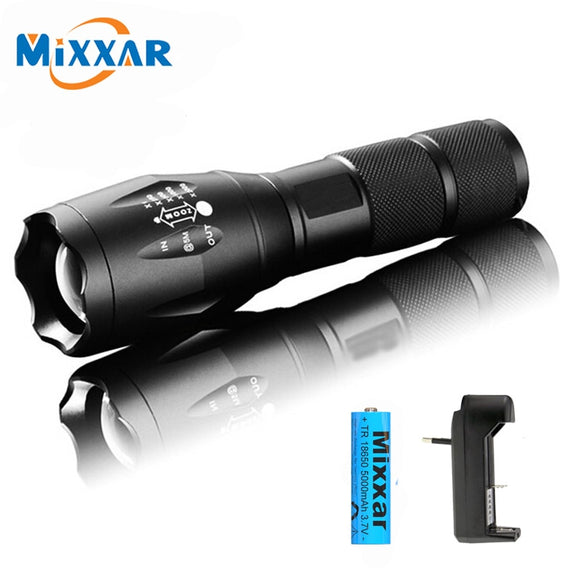 8000 Lumens TL360 Flashlight LED Torch 5 Mode