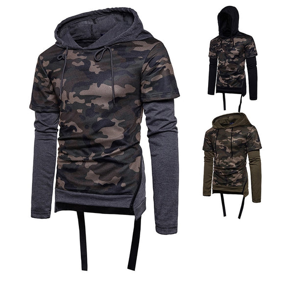 Men's Camouflage Hooded Long Sleeve Tactical Hunt Gear Store