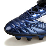 Soccer Cleats Leather High Top, Color - Blue