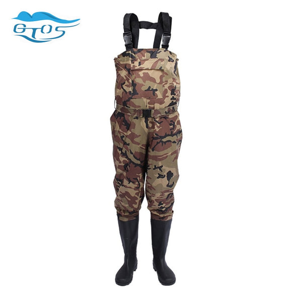 Men's Or Women Camo Waterproof Waist Waders