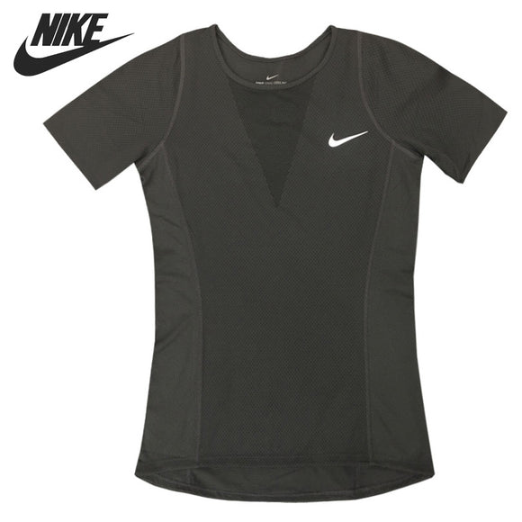 NIKE Women's Black T-shirts Short Sleeve Sportswear