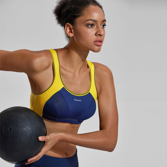 High Impact Wire Free Sports Bra