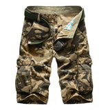 2019 New Camouflage Camo Cargo Shorts Men Loose Fit Hunt Gear Store