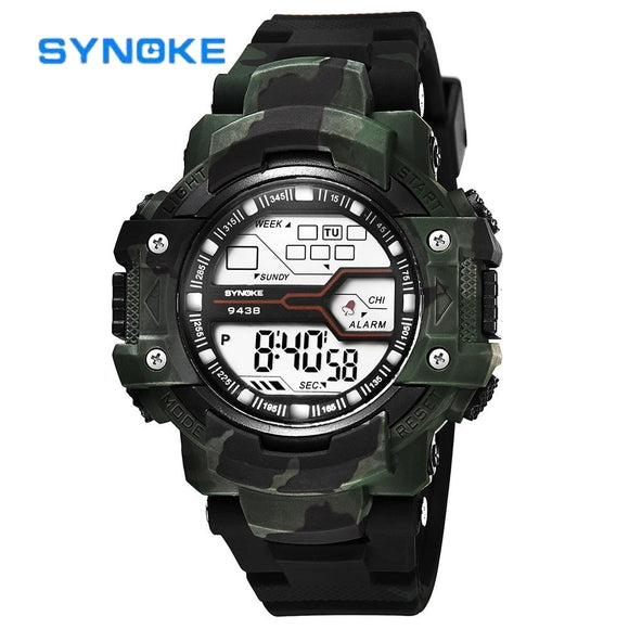 SYNOKE Wristwatch Men Sport Watch