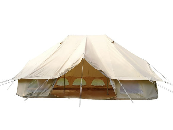 19.6ft Large Waterproof Cotton Canvas 6x4m Tent Hunt Gear Store