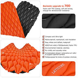 LATTCURE  Sleeping Bag With  Inflatable Sleeping Pad,