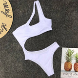 Women 2019 New One Piece Solid Swimsuit 7 Colors Hunt Gear Store