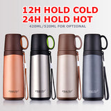 PINKAH 500ML Stainless Steel Insulated Bottle Vacuum Flask Hunt Gear Store