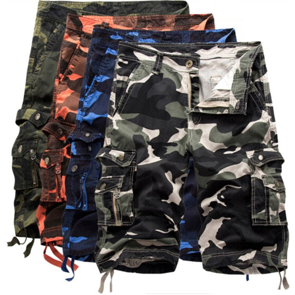 2019 Men's Casual Camouflage Pocket Short Hunt Gear Store