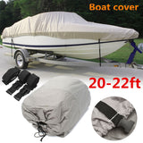Waterproof Boat Cover 20-22ft