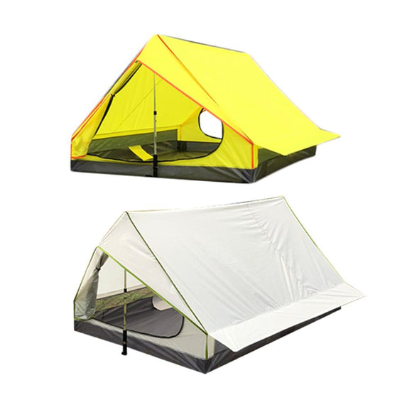 Rodless Portable A-Shaped Ultra Light Tent