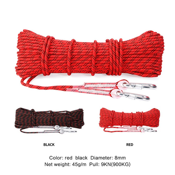 Paracord Rock Climbing Rope Hiking High Strength