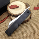 Best Japan Razor Knife D2 Steel Folding knife Hunt Gear Store