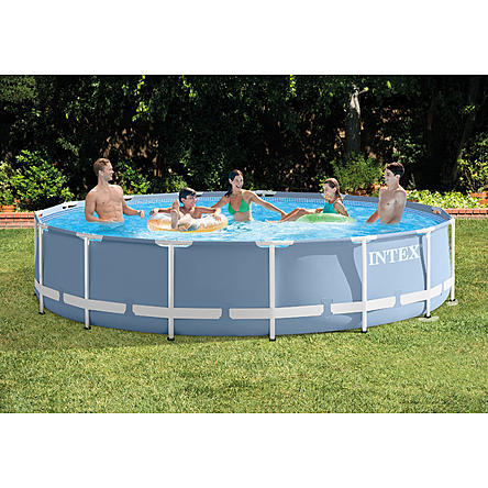 Intex 15Ft X 33In Prism Frame Pool Set
