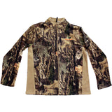 Mossy Oak Men's Fleece Camo Full Zip Jacket