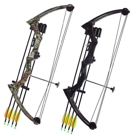 Bow Hunting Bow Arrow Set Pulley Fish Shooting Two Sizes Hunt Gear Store