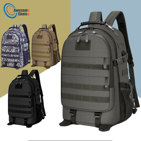 40L Pack Backpack Molle Waterproof Rucksack Hunt Gear Store