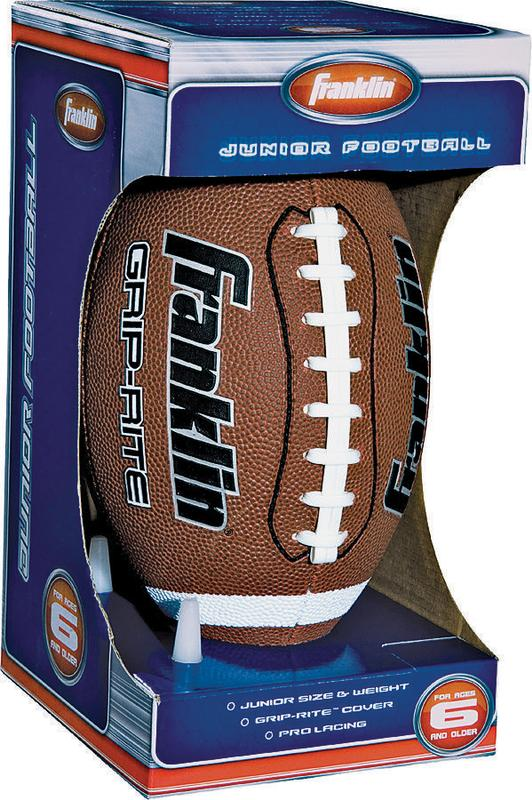 Franklin Sports Official Grip-Rite PVC Football