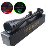 6-24x50 AOE Red & Green Illuminated Rifle Scope