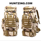 60L Molle Large Backpack Oxford Waterproof Hunt Gear Store