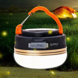 10W CREE LED USB Rechargeable Camping Light Lantern Tent Lamp 10 Hours Hunt Gear Store