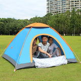 Camouflage Tent Folding Ultralight  Rainproof 3-4 Person