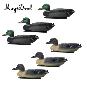 6 Pcs Male Decoy Duck Decoy Drake Floating Keel Hunt Gear Store