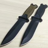 Hot Fixed Blade Knife Steel Blade With K Sheath Hunt Gear Store