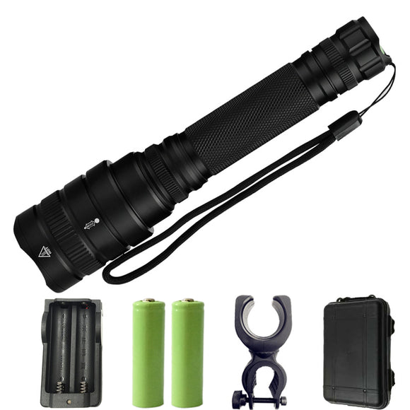 Z201515 LED flashlight 10000LM Cree-XH P50 Aluminum alloy torch Light