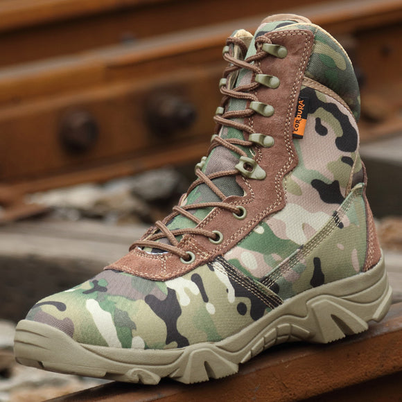 Hunting Boots 511 Tactical Black & Camo