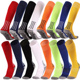 Anti Slip Soccer Socks 8 Color Option Kids And Adults