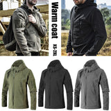 Neutral Outdoor Thicken Warm Coat Fleece Jacket Hiking Mountaineering Jacket Camping Hunting Fishing Heated Travel Clothes