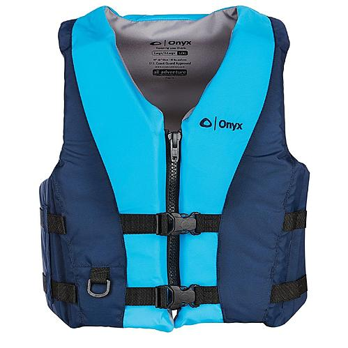 New Onyx Outdoor All Adventure Pepin Vest Aqua Blue