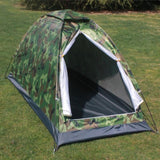 Camouflage Tent Single Layer Folding Waterproof Portable Hunt Gear Store