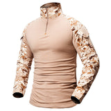 Quick Dry Military Army T-Shirt Men Long Sleeve Camouflage Hunt Gear Store