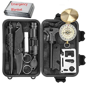 EILIKS Emergency Survival Kits, CHANGKU Multi Professional Tactical Kit