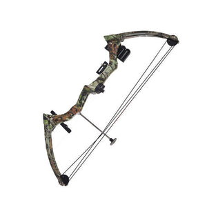 Compound Bow 20 Pounds  Black/Camo Color High-Strength Hunt Gear Store