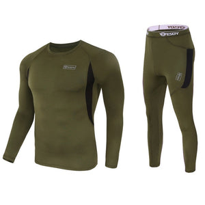 Underclothing Fleece T-shirts Pants Combo Hunt Gear Store